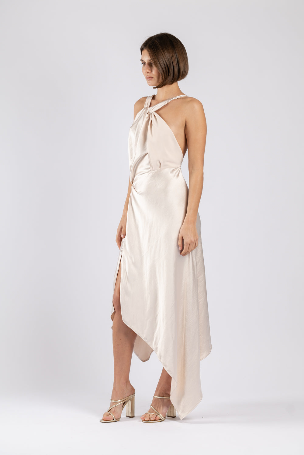 AUDREY DRESS IN MOTHER OF PEARL
