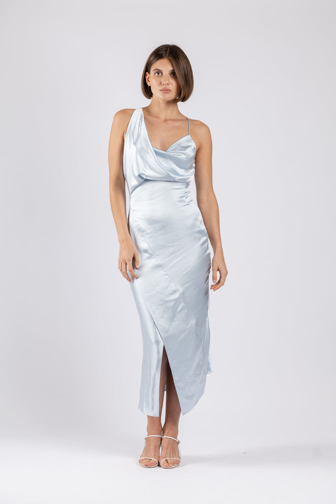 MUSE DRESS IN SKY BLUE PO