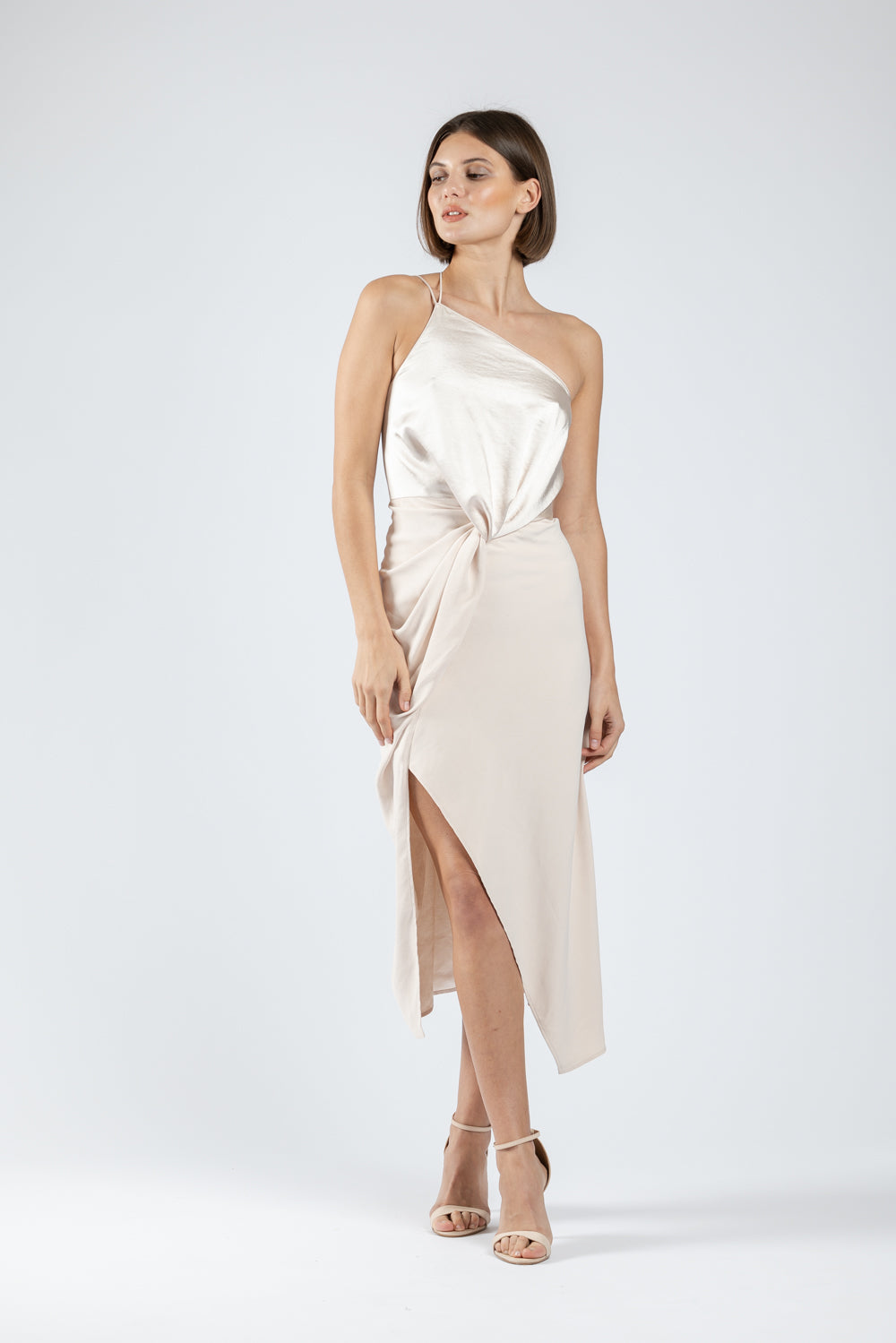 BESAME DRESS IN MOTHER OF PEARL