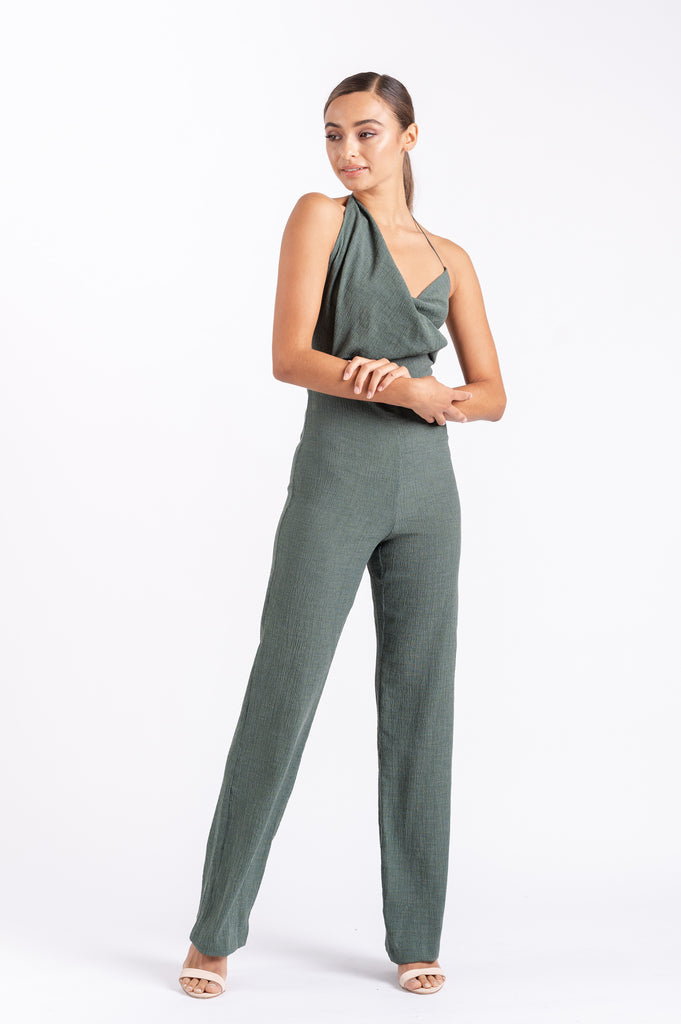 MUSE JUMPSUIT IN PINE