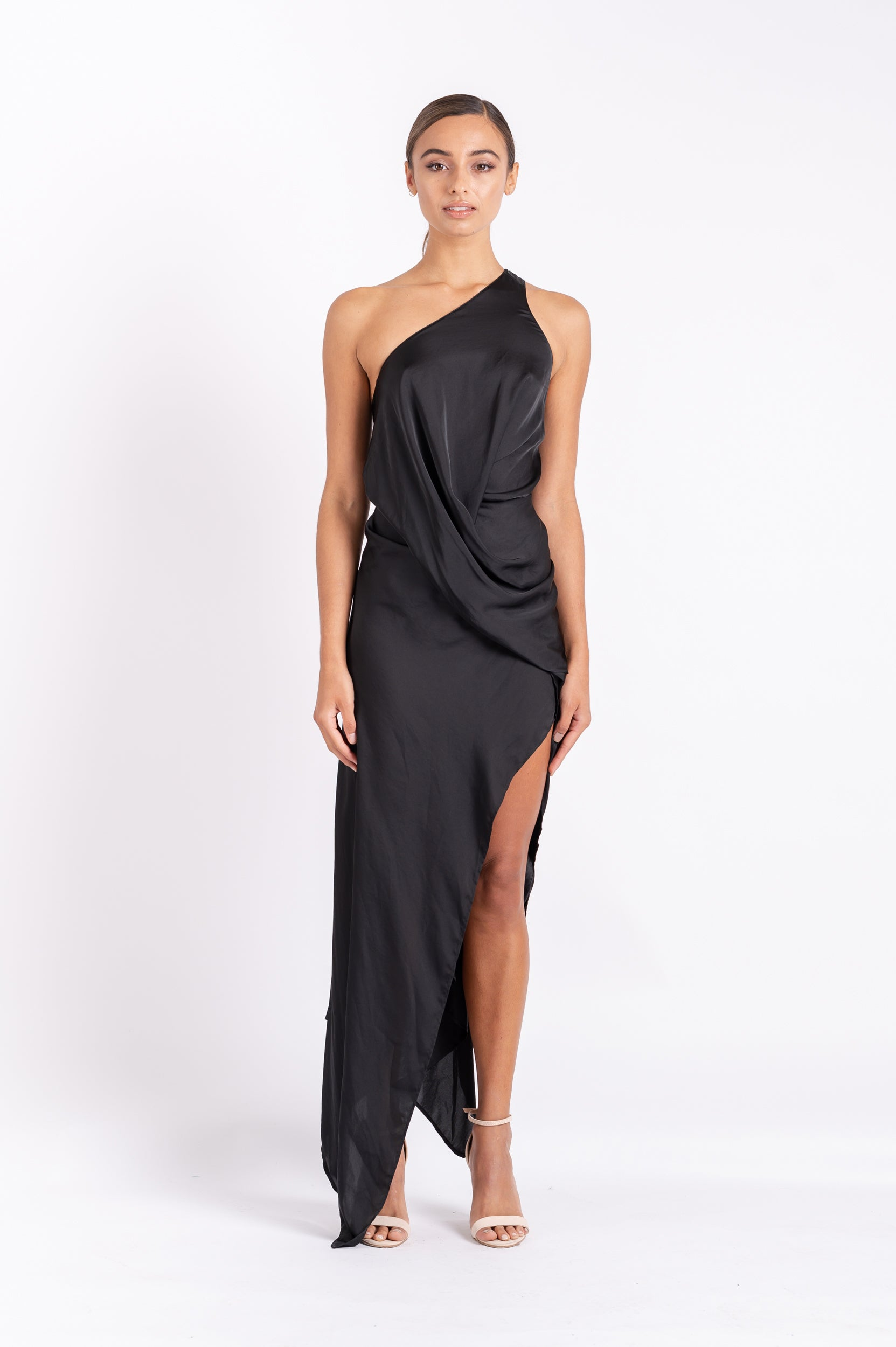 PHILLY DRESS IN BLACK AIR PO