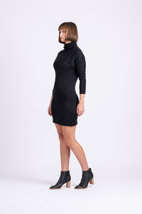 LIBBY MINI IN BLACK KNIT