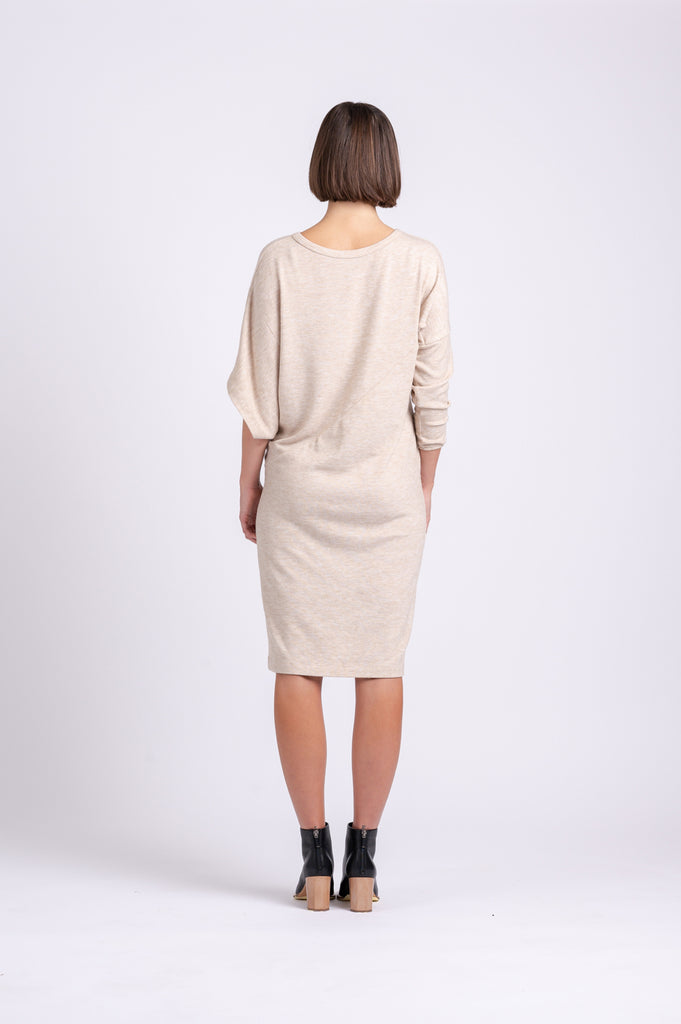 Ophelia Knit Dress in Sand