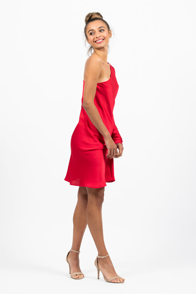 Amour Dress in Rouge