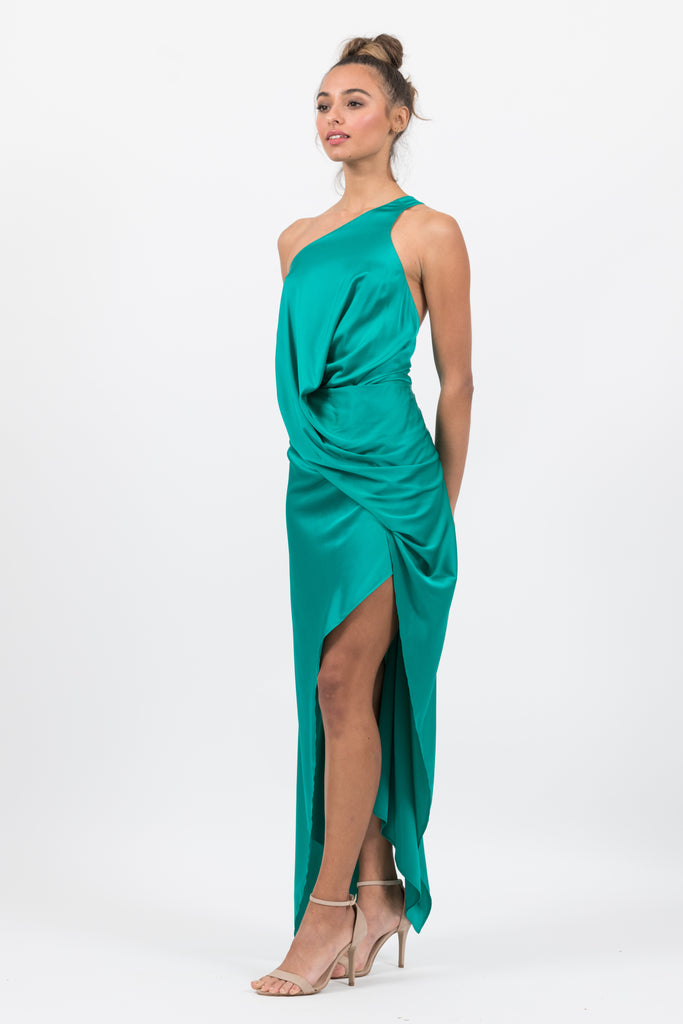 PHILLY DRESS IN CAPRI SILK