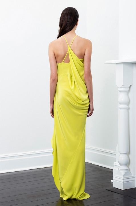 Satya Dress in Canary