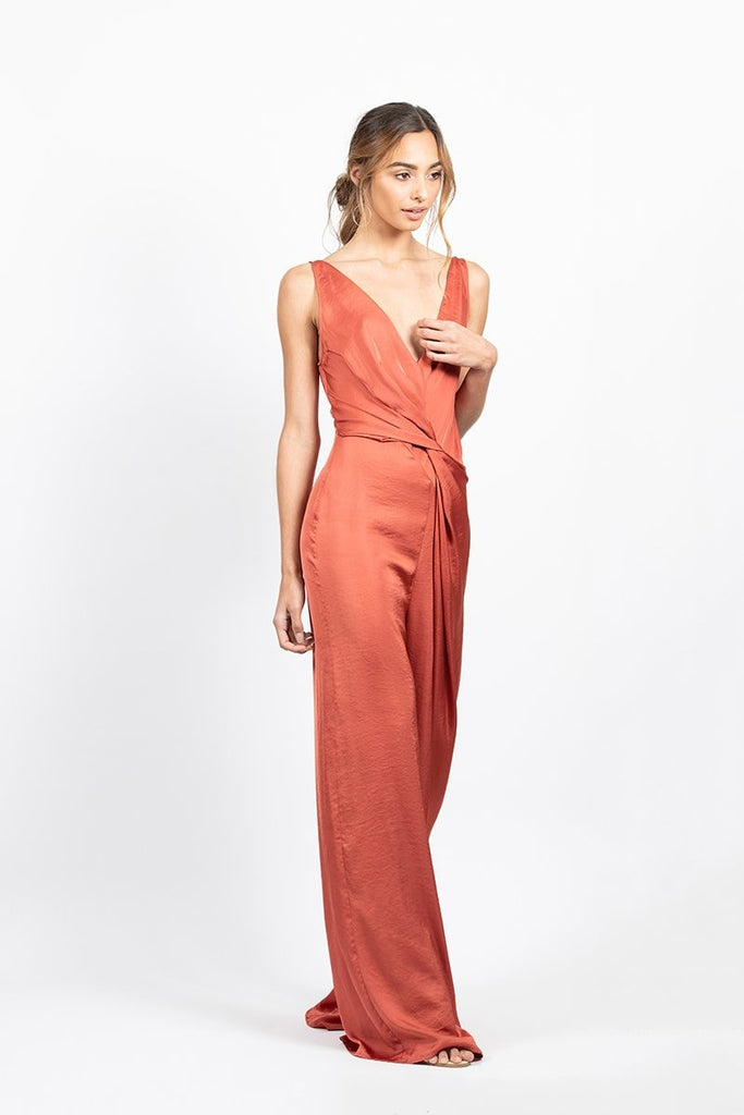 Olivia Jumpsuit in Copper