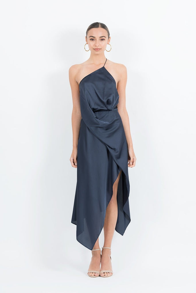 Opera Dress in Navy