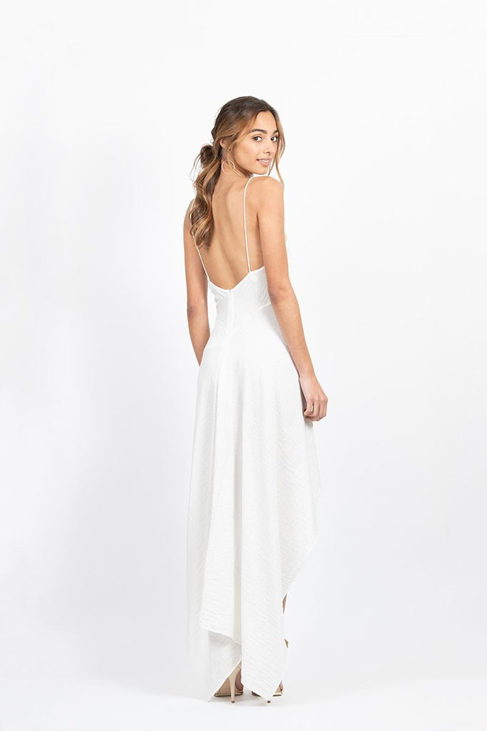 Revenge Dress in White
