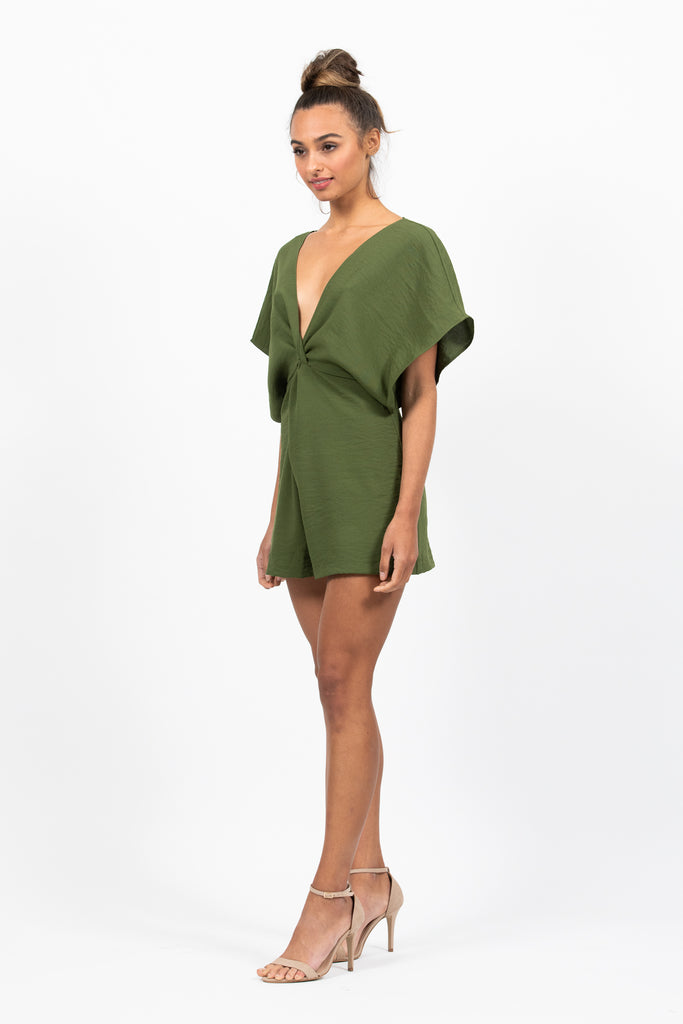 Provence Playsuit in Herb