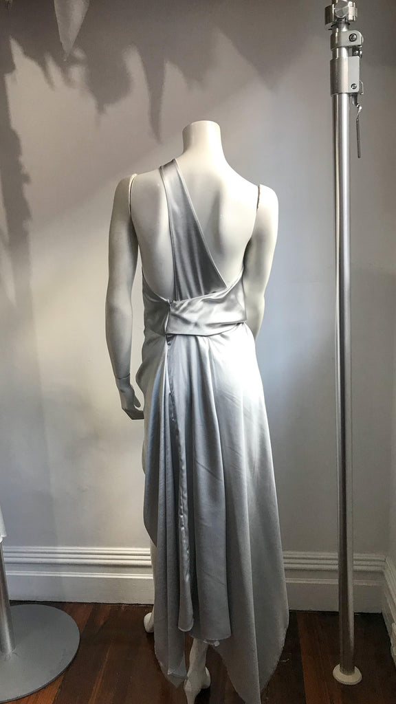 Philly Dress in Silver Ash