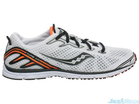 Men's Saucony  Type A4  •White/Black• Competition Road Racing Shoe