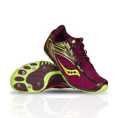 Women's Saucony Shay XC 2 Flat -Track & Field Shoes/Spikes - ShooDog.com