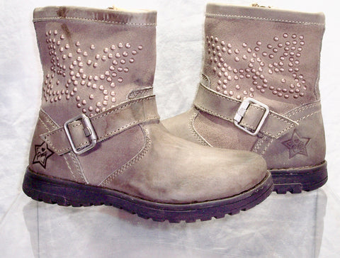 Toddler  Primigi Engineer Boot - Taupe Grey -
