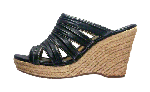 SOFFT Women's •Elia• Jute-Wrapped Wedge Slide