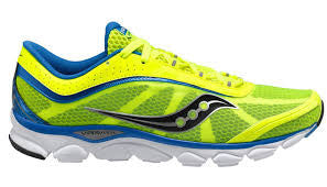 Men's Saucony Virrata •Neon Yellow• Running Shoes - ShooDog.com