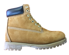 "Mens 6"" Premium Nubuck Work Boot  1161 - Available in Wheat or Black - ShooDog.com"