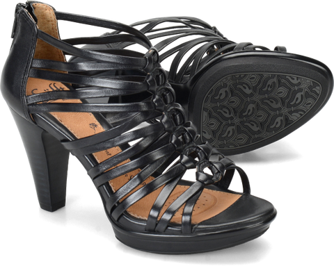 SOFFT Women's •Rendon• Knotted Caged Sandal
