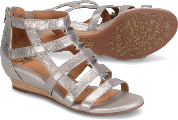 SOFFT Women's •Rio• Wedge Gladiator Sandal
