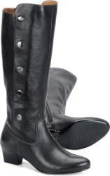 SOFFT Women's Rosie Snap Button Tall Leather Boot - ShooDog.com