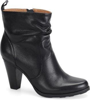 SOFFT Women's Toby •Black Leather•  Ankle Boots - ShooDog.com