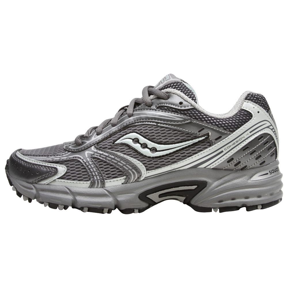 SAUCONY Women's Grid Cohesion TR4 -Grey/Mint Green- Trail Running Shoe - ShooDog.com