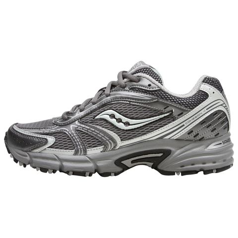 SAUCONY Women's Grid Cohesion TR4 -Grey/Mint Green- Trail Running Shoe