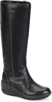 SOFTSPOTS Women's •Carla•  Knee High Wedge Boots - Water Resistant - ShooDog.com