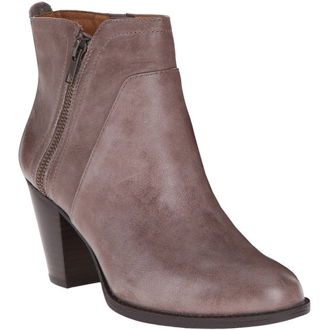 SOFFT Women's West •Grey Leather•  Ankle Boots