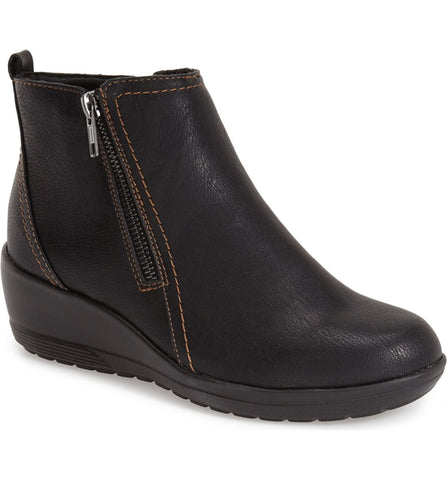 Women's Softspots •Carrigan• Weatherproof Wedge Boot - ShooDog.com