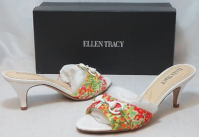ELLEN TRACY Women's Augusta 2 Floral Slide