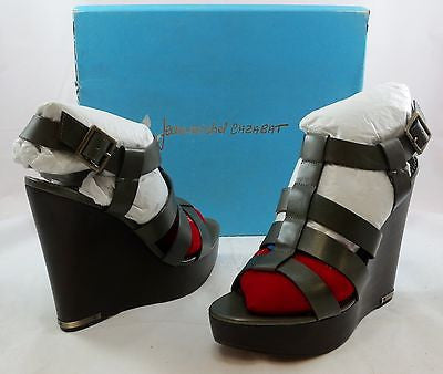 JEAN-MICHEL CAZABAT Women's Walls Wedge - Cargo - 40M - NIB - MSRP $235