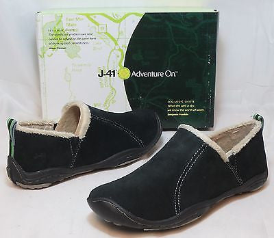 J-41 Women's Horizon Slip On - Black - SZ 7.5M & 10M only - NIB - MSRP $89!