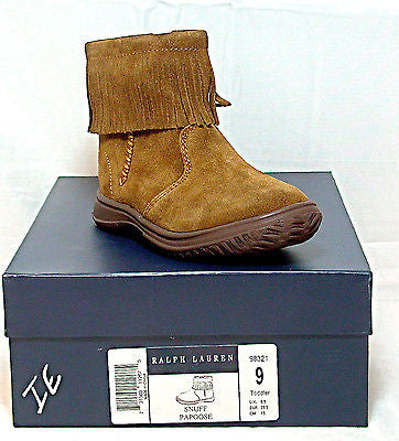 Ralph Lauren Papoose Boot  •SNUFF• TODDLER