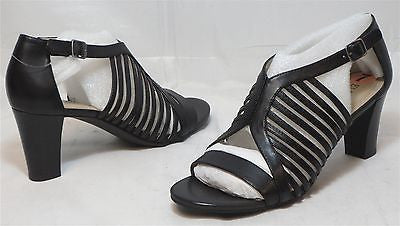 ELLEN TRACY Women's Miles Sandal - Black - Multi SZ NIB - MSRP $ 70 - ShooDog.com