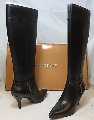 ELLEN TRACY Women's Harvard Boot - Black - - ShooDog.com