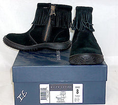 Ralph Lauren Papoose Boot  •BLACK• TODDLER - ShooDog.com