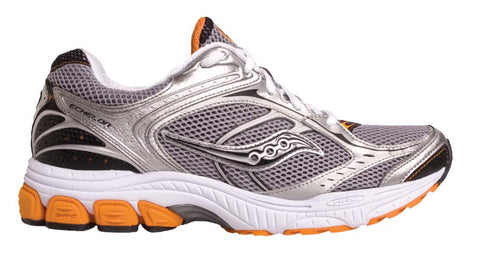 Men's Saucony Progrid Echelon •Silver/Black/Orange• Running Shoe