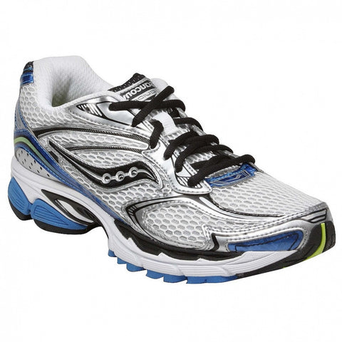 Mens Saucony Guide 4 •Wht/ Roy/ Ctn• RUNNING SHOE - ShooDog.com