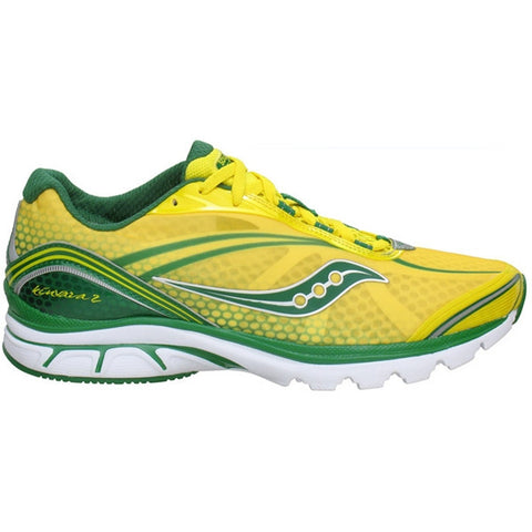 Mens Saucony Progrid Kinvara 2 •Yellow / Green• Running Shoe - ShooDog.com