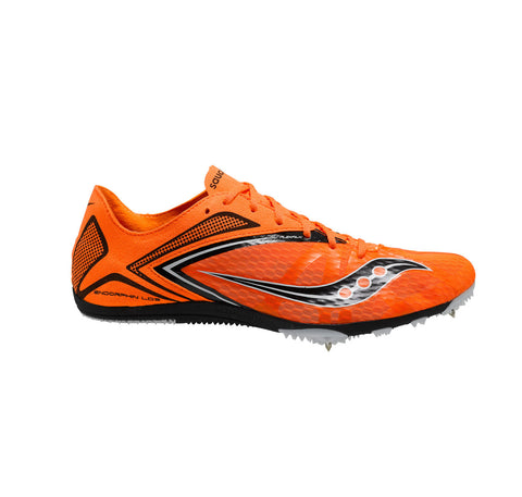 Saucony Men's Endorphin LD3 Track Shoe •Orange• - ShooDog.com