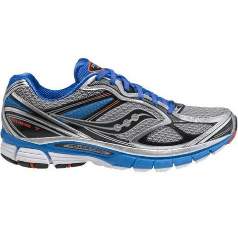 Men's Saucony ProGrid Guide 7 •Blue/Silver/Black• Running Shoe