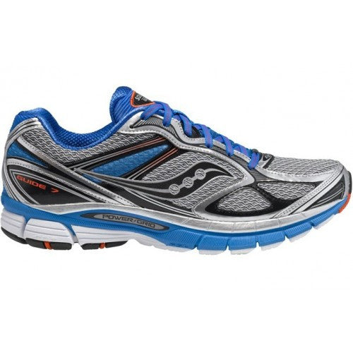 Men's Saucony ProGrid Guide 7 •Blue/Silver/Black• Running Shoes - WIDE ...