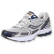 Men's Saucony Progrid Stabil CS •Silver/Navy/Gold• RUNNING SHOE