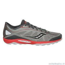 Men's Saucony Progrid Kinvara TR  -Grey- Trail Running Shoe