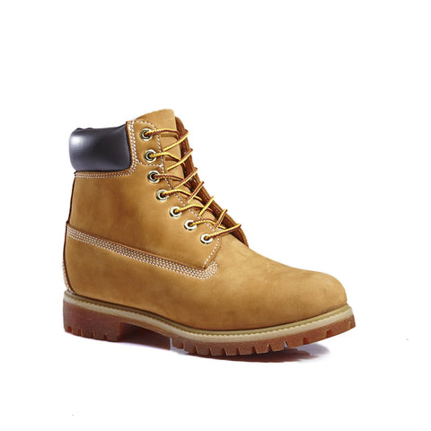 "Kingshow Mens 6"" Premium Nubuck Work Boot  2058"
