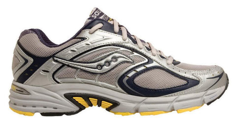 Men's Saucony Cohesion 7  NX TR •Grey/Neon• Trail Running Shoe - ShooDog.com