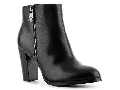 Tahari Reunion Side Zipper Leather  Bootie - ShooDog.com