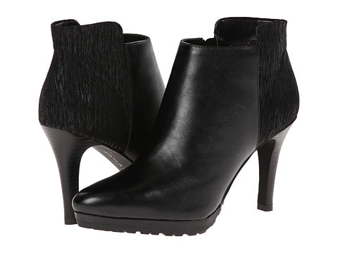 Tahari Womens •Gordon• Almound-toe Bootie - Black - ShooDog.com
