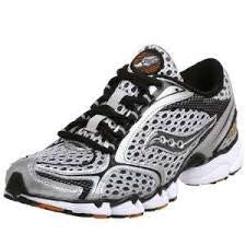 Mens Saucony Grid Sinister •GreyBlack• Running shoes - ShooDog.com